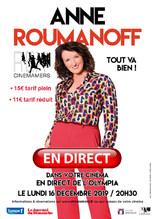 """Anne Roumanoff dans """"Tout va bien"""""""