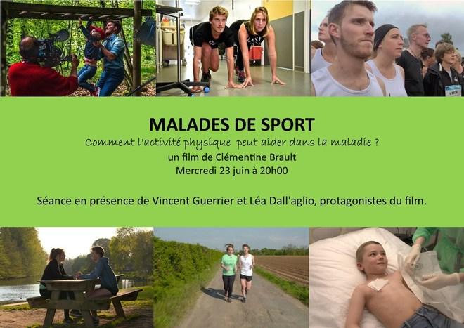 """Ciné-rencontre """"Malades de Sport"""""""